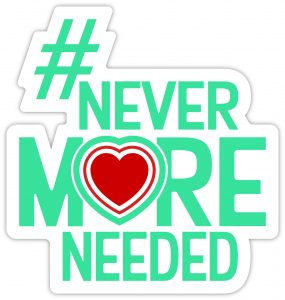 Join the Never More Needed Campaign